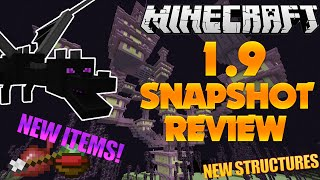 Minecraft 1.9 Snapshot Review (15w31a) | New Mob/Items/Blocks/and Structures