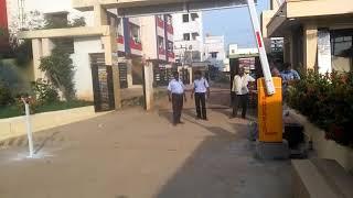 Scorpio Auto Boom Barrier - Sai Engineers Apartment welfare Association, Chennai