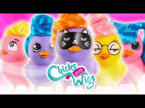 CHICKS WITH WIGS FROM JAKKS PACIFIC! | A Toy Insider Play by Play