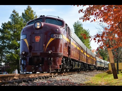 Full HD 60FPS: 20th Century Saturday: Chasing The Pennsylvania E8s and the Erie Lackawanna SD45-2