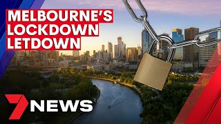 COVID-19: Melbourne's lockdown letdown as easing of restrictions 'paused' | 7NEWS