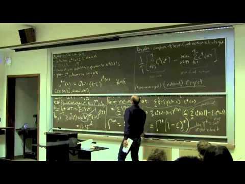 Algorithmic Game Theory, Lecture 17 (No-Regret Dynamics)