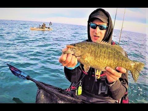 Fall Smallmouth Bass Fishing On Lake Erie