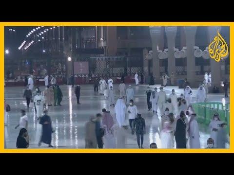 ????السلطات السعودية تعيد فتح المسجد النبوي أمام المصلين بعد إغلاق دام أكثر من شهرين  - 16:59-2020 / 5 / 31