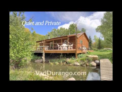 Riverside Cabin Vacation Rental Near Durango, Colorado