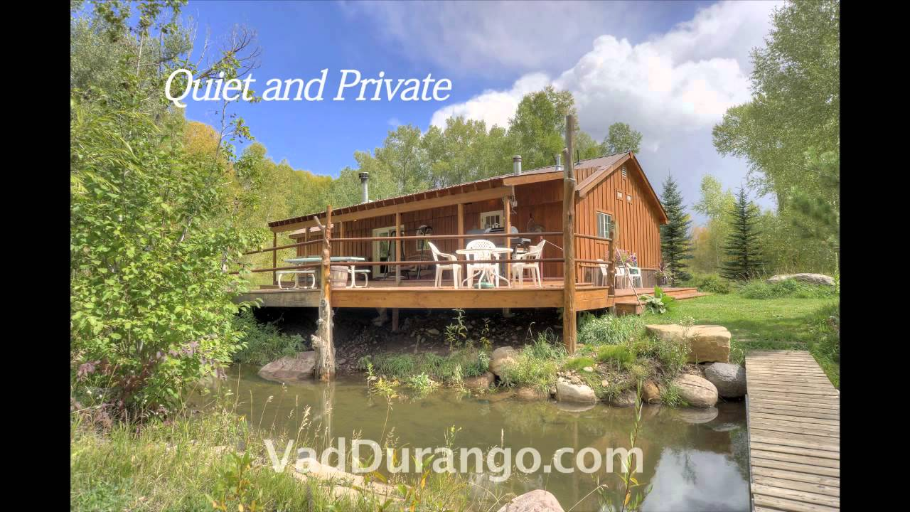 Riverside Cabin Vacation Rental Near Durango Colorado