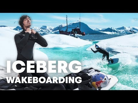 The Coldest Place To Go Wakeboarding