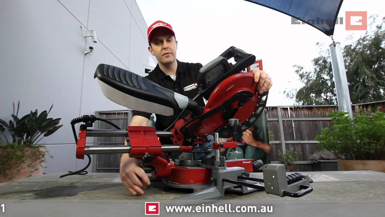 Bekend Einhell Universal Sliding Mitre Saw - YouTube BQ51