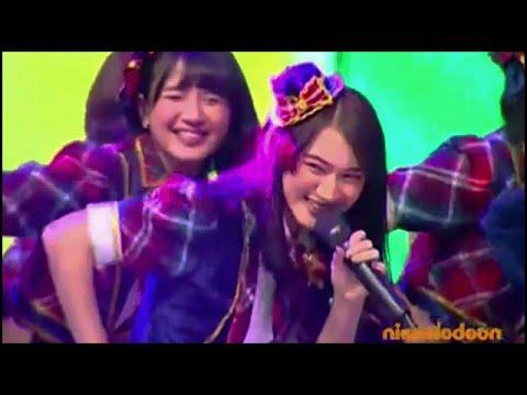 JKT48 - Kibouteki Refrain @ IKCA 2015 Global TV [15.06.10]