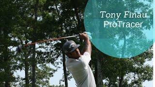 Tony Finau AMAZING ProTracer Shots