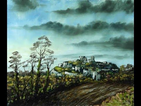 Dunamase – Time Lapse Painting