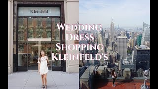 BUYING WEDDING DRESS AT KLEINFELD'S + NYC VLOG || BAILEY ARTHUR