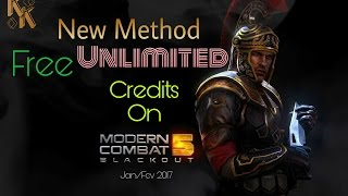 A new 2017 method How to get FREE credits On Modern Combat 5 easy, bug on game!! [Update 13]