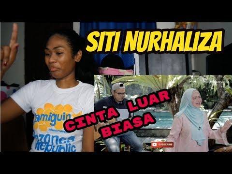 "SITI NURHALIZA COVER "" CINTA LUAR BIASA "" ANDMESH   Reaction"