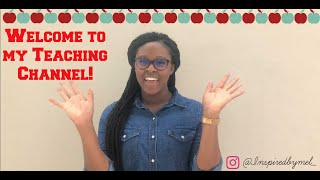 Welcome to my Teaching Channel!