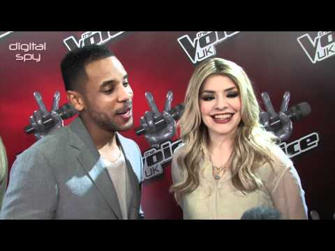 Reggie and Holly on The Voice UK