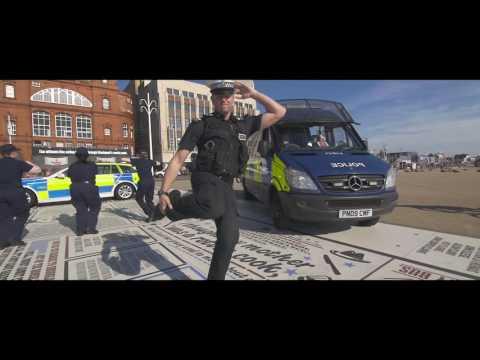 Lancashire Police #RunningManChallenge Running Man Challenge 2016 - Lancs Police Cadets