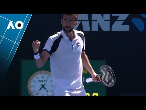 Janowicz v Cilic match highlights (1R) | Australian Open 2017