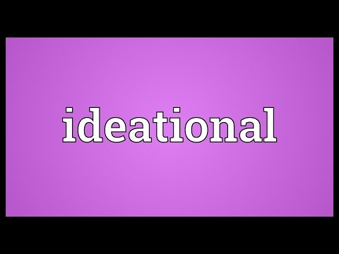 Header of ideational