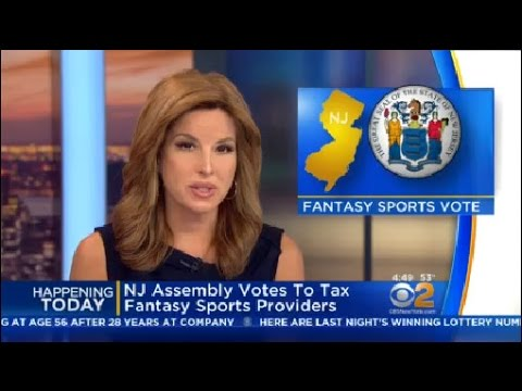 NJ Assembly Votes To Tax Fantasy Sports Providers