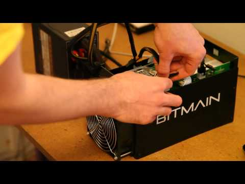 Bitmain Antminer S5 Setup Video