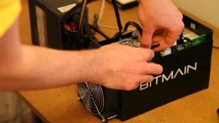Bitmain Antminer S5 Setup Video