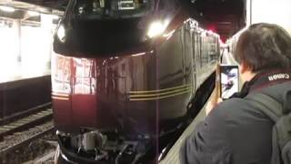 JR東日本E655系『なごみ(和)』団体臨時列車上野駅発車!※ミュージックホーン+警笛あり 2019.04.16