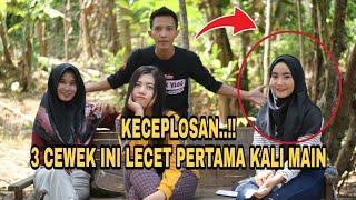 PERTAMA KALI GITUAN SEMINGGU 2 KALI..cewek cantik ini keceplosan..sosial eksperimen indonesia baru