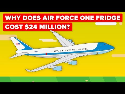 Why Does Air Force One Fridge Cost $24 Million?