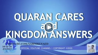 Ed Lapiz - Quaran Cares and Kingdom Answers🆕👉 Review Latest Sermon New Video 👉