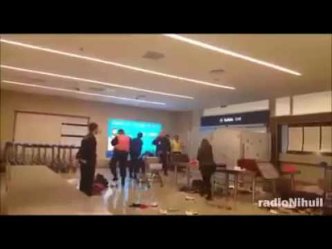 Día de furia en el aeropuerto de Mendoza: Un hombre reaccionó de la peor manera ante un control de la AFIP