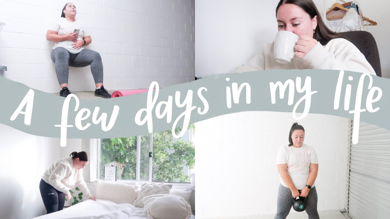 a few days in my life - working out + beach trip! Georgia Richards