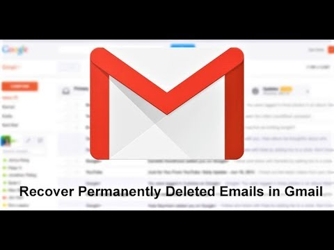 Recover Permanently Deleted Emails From Gmail || 2019 || 100% Working