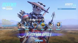 Overwatch - Quick Play - Hanzo - Numbani - Defense
