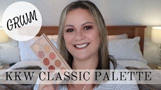GRWM KKW Classic Collection Eyeshadow Palette - Mature Beauty/Over 50