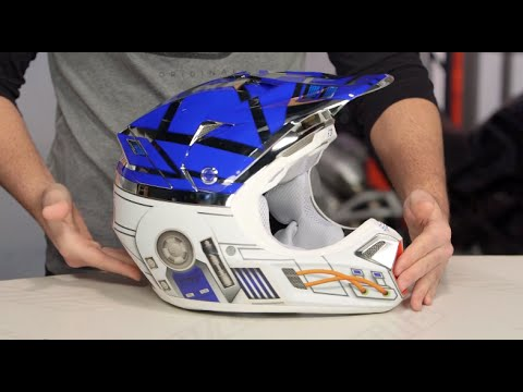 Fox Racing V3 R2D2 LE Helmet Review at RevZilla.com