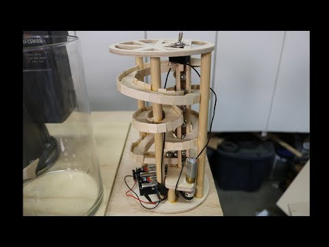 Vase Marble Machine Build, Part 2 (The Track)
