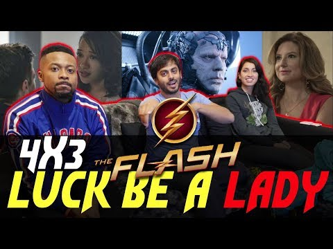 The Flash - 4x3 Luck Be A Lady - Group Reaction