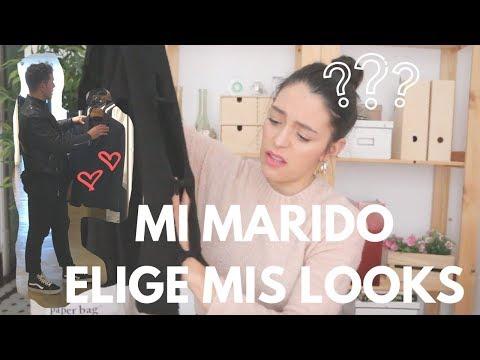 MI MARIDO ELIGE MIS LOOKS | PASO A PASO