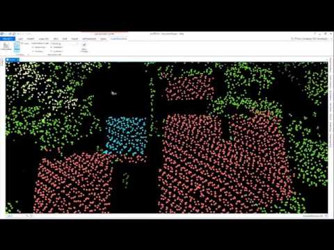 Using Lidar To Extract 3D Buildings And Trees