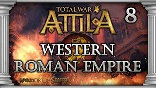 Total War: Attila - Gameplay ~ Western Roman Empire Campaign #8 - Attack or Retreat?