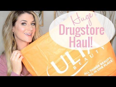 DRUGSTORE ULTA HAUL! | MAKEUP & SKINCARE | JACLYN HILL MORPHE, NYX COSMETICS, CATRICE thumbnail