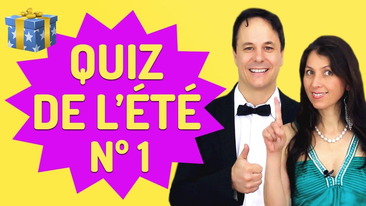 Exercices de français | Le Grand Quiz de l'Été Nº 1