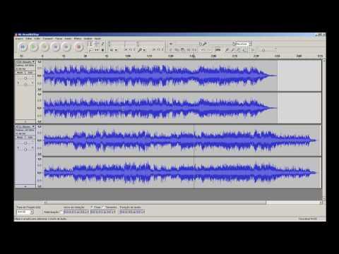 Audacity - Mesclar músicas