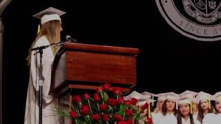 Elizabeth Dolan Graduation Speech