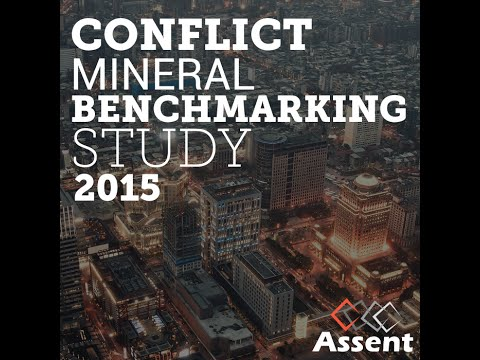 [Webinar Replay] Conflict Mineral Benchmarking Study with Tulane University's Chris Bayer, PhD.