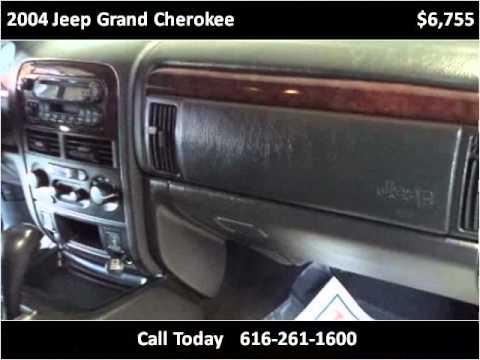 2004 jeep grand cherokee used cars grand rapids mi youtube. Black Bedroom Furniture Sets. Home Design Ideas