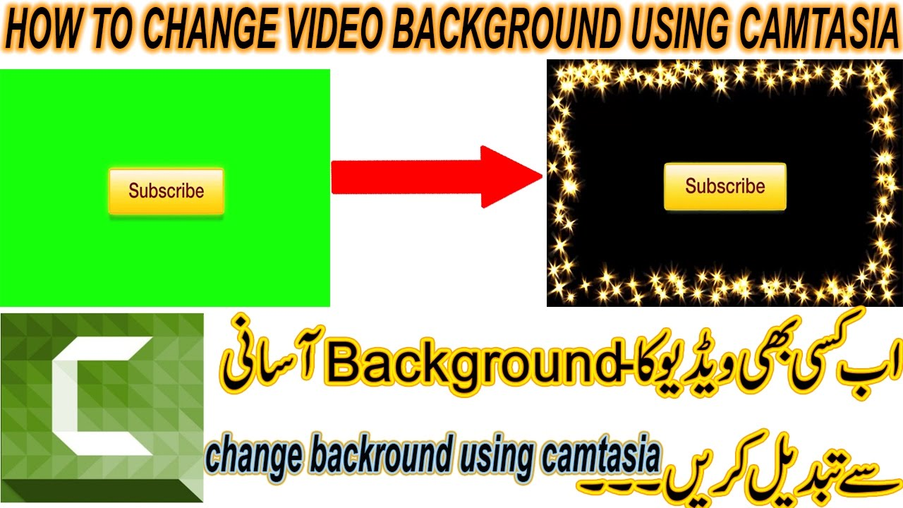 how to change video to square in camtasia