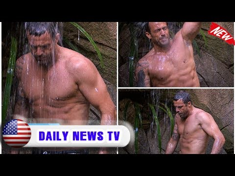 I'm a celebrity's jamie lomas shows off his ripped body in jungle shower| Daily News TV