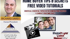 Frisco Plano Dallas Texas First Time Home Buyer Tips